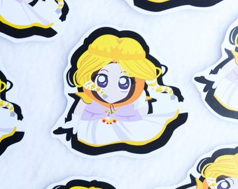 Princess Kenny Sticker Kawaii Cute Cartoon Character Nerdy Zelda Cosplay South Park Stick of Truth Video Game Gamer Gaming Stationery Art