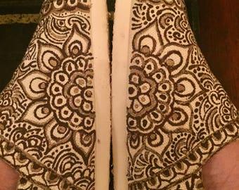 Metallic Pehla Shoe