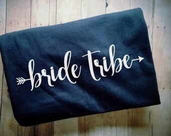 Bride Tribe Arrow Women's TShirt - Bridal Party Clothing - Bachelorette Clothing - Bridesmaid Maid of Honor Shirt