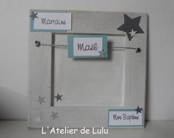 "original and personalized baptism or birth ""stars"""