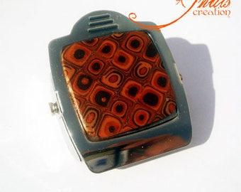 magnet/wholesale magnet clip Brown fimo clay gun 5 * 4cm