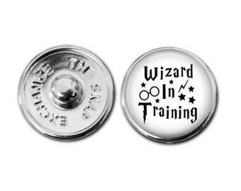 Wizard in Training  snap charm