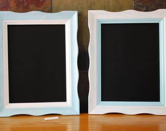 Framed Chalkboard, Wedding Chalkboard Sign, Teal Chalkboard, Chalkboard Sign, Chalkboard Frame, Rustic Chalkboard