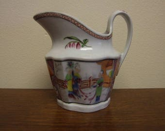 New Hall Porcelain Pattern 621 Creamer - Circa 1790