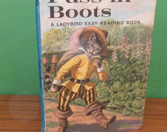 Vintage Children's Ladybird Book - Puss in Boots - Well-Loved Tales 606D
