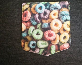 Fruity Circles Cereal Pocket Tee