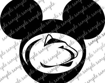 Penn State/Mickey/Nittany Lion/SVG