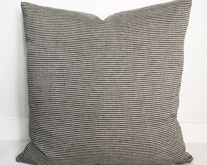 Pillow Cover, Textile, Linen, Washed, Organic, Eco-Friendly