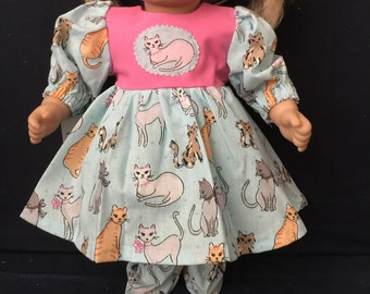 "American Handmade Girl 15"" doll clothes."