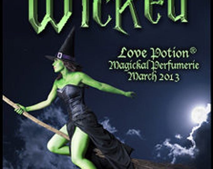 Wicked - Handcrafted Fragrance for Women - Halloween - Love Potion Magickal Perfumerie