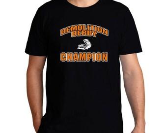 Demolition Derby Champion T-Shirt