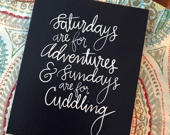 Adventures & Cuddling Print