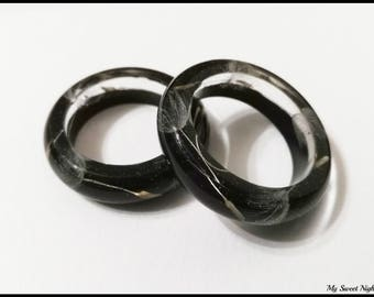 Dandelion resin ring handmade , real dandelion botanical ring, nature inspired, terrarium jewelry