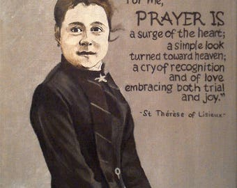 St. Therese Color Print