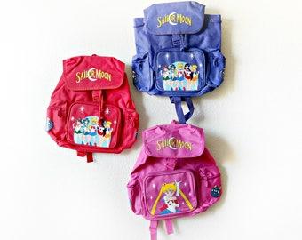 Vintage Sailor Moon Drawstring Backpack