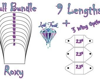 "Roxy/Full Bundle/Cloth Pad Pattern/2.5"" Snapped Width/Leak Freak Compatible Only"