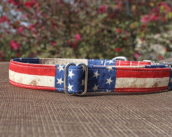 USA Collar | Dog Collar | Male Dog Collar | Female Dog Collar | Novelty Dog Collar | Pet Collar | Large Dog Collar | Small Dog Collar