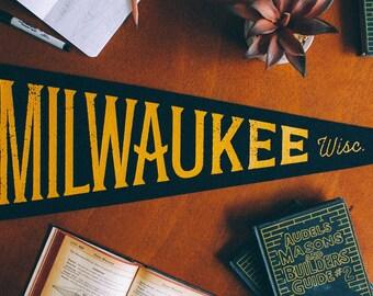 Milwaukee Wisconsin Pennant