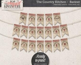 Country Kitchen Decor rustic kitchen decor | etsy