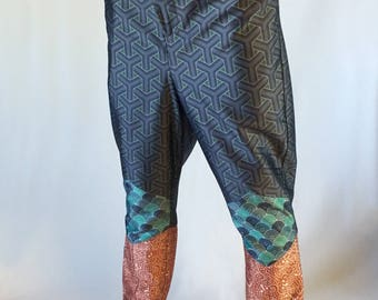 Japanese style mens pants, Graphic trousers, Mens clothing, Mens fashion, Ornaments
