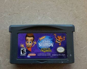 Jimmy Neutron Gameboy Advance Original GBA