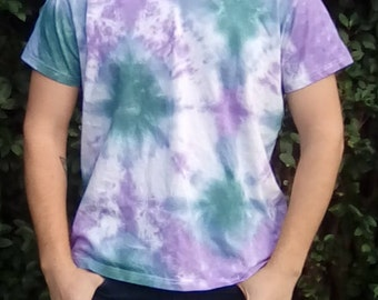 Unique Tie Dye, Tie Dye for Men, Alternative Lifestyle, One Off Tie Dye, Gift for Him, Hippy Tshirt, Festival Clothing, Hippy Gifts