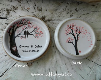Unique Wedding Gift, Wedding Gift, Wedding ring dish, Anniversary Gift, Wedding gift for couple,Engagement gift,Ring dish, Personalised gift
