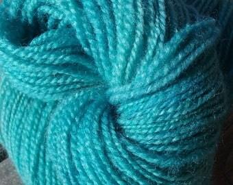 Hand Spun Rambouillet Yarn-DK Weight