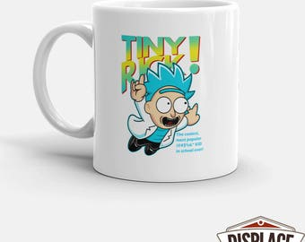 rick and morty / tiny rick / pickle rick / rick sanchez / morty / rick / rick morty / tiny rick mug / rickle / 11oz 15oz Coffee Mug