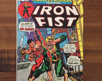1972 Marvel Premiere #16/ FN 6.0/ Marvel 2nd Appearance Iron Fist!/ 1st Appearance Colleen Wing!/ J/ Hot!!!