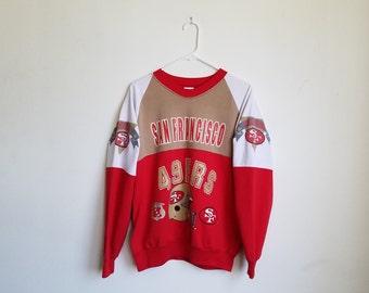 Vintage San Francisco 49ers Sweater Sz. L