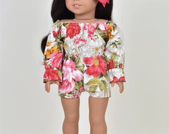 Romper  18 inch doll clothes Taylor Country Style
