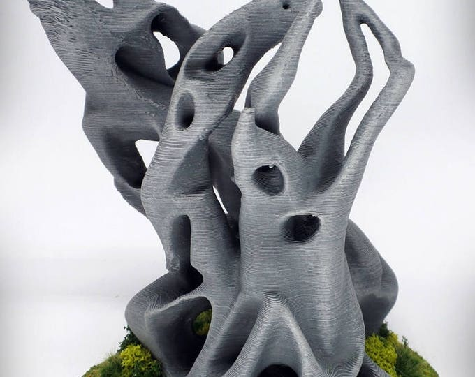 "Pyre (""Ghost Stones"") – UNPAINTED kit - Miniature Wargaming & RPG terrain - 6 inches (large version) / 5 inches (small version)"