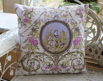 Pillow Cover Toile de Jouy