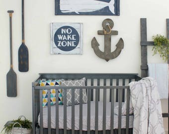No wake zone etsy for Decoration zone