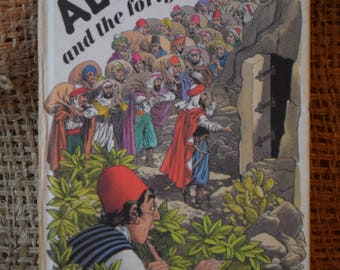 Ali Baba and the Forty Thieves. A Vintage Ladybird Book. Series 740. 1978