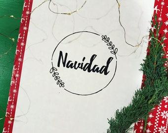 Navidad Printable Sign