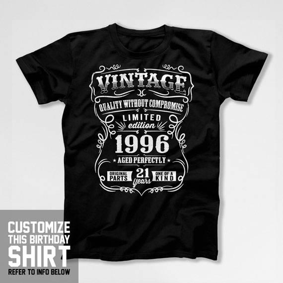Birthday Gift For Him 21st Birthday T Shirt 21st Birthday