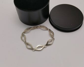 Bracelet link bracelet 835 silver vintage old SA330