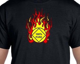 NA - 100 PERCENT PURE -  T-shirt - Color Options - S-5X - 100% cotton heat press t's   Free Shipping