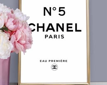 CHANEL No 5 No.5 - Art Print Poster Canvas