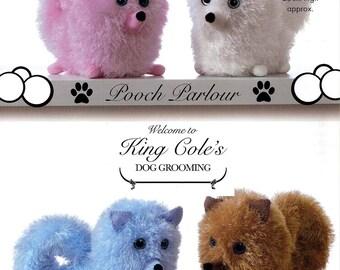 King Cole Knitting Pattern 9077~Pomeranian Pups~Tinsel Chunky