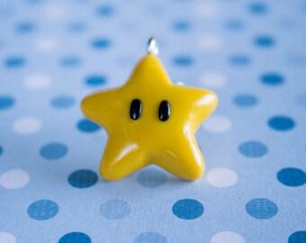 Polymer Clay Mario Star