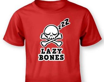 Lazy Bones baby t-shirt