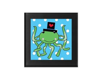 octopus coasters, glass coasters, glass drink coasters, coasters glass, animal coaster, cool coasters, beverage coasters, modern coasters