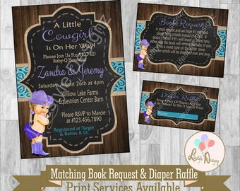 Cowgirl baby shower Etsy