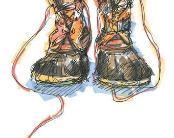 Ll Bean Duck Boots Etsy