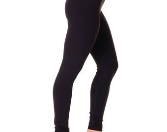 Women Active Fitness Wear Leggings - Black