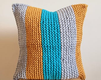 Texture Knitted Cushion Cover