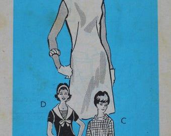 Vintage Sewing Pattern - Uncut 1960s Dress Pattern - Anne Adams 4848